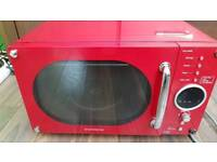Microwave 800Watt Red Daewoo
