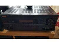 Onkyo TXSR608 AV receiver + Mordaunt-short Alumni speakers