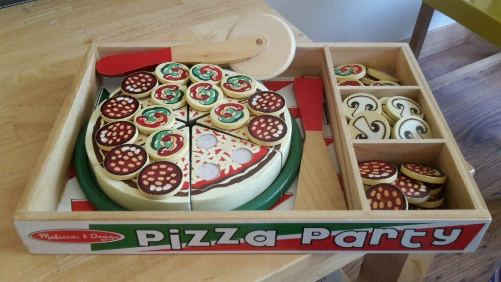 Melissa Doug Toy Wooden Pizza Set In Aberdeen Gumtree