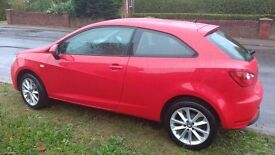 Seat Ibiza red low milage great condition