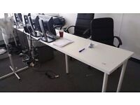 5 x office chairs and desks tables from ikea only £35 each