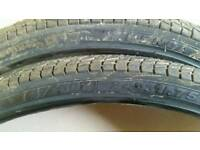 24 inch bike tyres x2