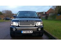 2008 RANGE ROVER SPORT TDV6 HSE FULLY LOADED PX AUDI RS4 BMW M3 MERCEDES AMG
