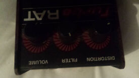 Rat pedal (great condition) vintage distortion pedal