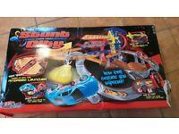 Toy. Childrens Stunt City Motorised Launcher