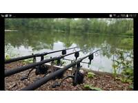 Carp fishing tackle full set up