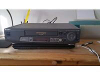 SONY SE80UX VHS NICAM STEREO VHS VIDEO RECORDER