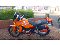 KTM 990 Adventure 2007 Orange ABS **NO SWAPS**