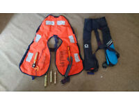 Lalizas Omega CE150N adult life jacket. As New Never Used, with original bag. Two avaliable.