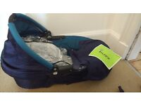 Free - Quinny carry cot with car seat adaptors
