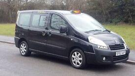 2012 62 REG PEUGEOT EXPERT E7 SE TAXI SWB BLACK HACKNEY CAB