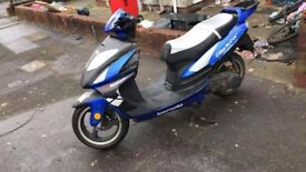 Gladiator 125cc Needs a new exhaust and needs tlc. Sell or swap
