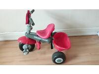 Kids Smart Trike - Red Full SET