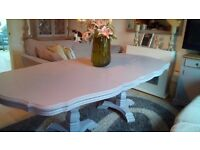 Large Extending Dining table 6-10 seater- reduced to £250