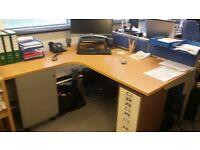3 high quality office desks