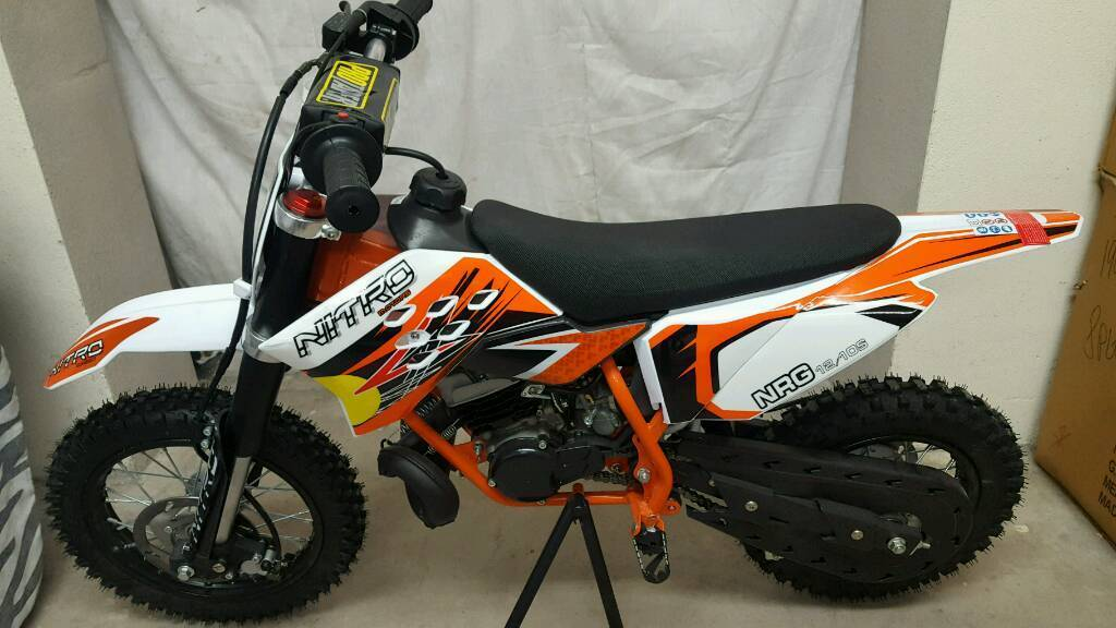 Orange IMR racing..... 50cc kids MX bikes...automatic..... ktm ...