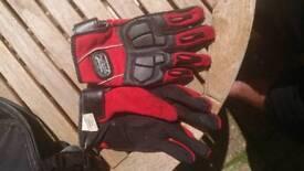 Pro bikers gloves size L