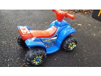 Kids 6v mini electric quad