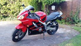 Honda CBR 600F6 2006 7000 Miles