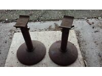 Axle stands heavy duty pair of adjustable axle stands