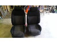 VW BORA/MK4 GOLF SEATS,RECARO STYLE FOR SALE,£150.00 ono.