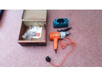 Electric drill 240v with sanding attachment black & Decker