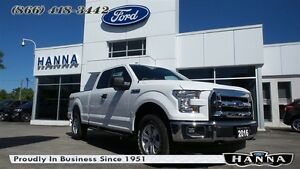 2016 Ford F-150 SUPER CAB XLT *300A* 4X4 5.0L V8 GAS