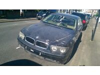 BMW 745 Li 2003\ 03- Spares or Repair\ Salvage
