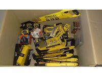 Stanley DeWalt Black&Decker Assortment of tools & bits Full list of items in description