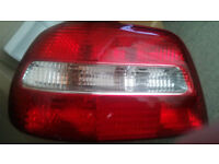 Volvo S40 left rear lamp (passenger side)