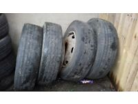 5 wheels for Ford iveco tread good 205/75 R17.5