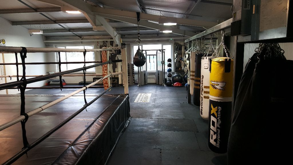 Boxing coach personal trainer north london
