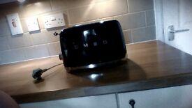 Smeg toaster in black