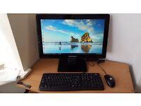 Fast Stylish all in one PC i3-3240 3rd Gen Microsoft Windows 10 Wifi 4GB RAM 500GB HDD
