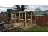 Fencing, decking and shed specialists.