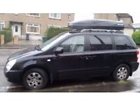 Kia Sedona 1yr mot,6 service stamps,2 owners from new,