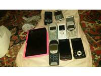 9 mobile phones for sale