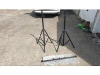 Two Pulse lighting stand's and one t bar. for sale  Bristol