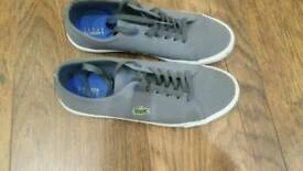 Boys size 5 Lacoste trainers