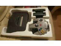 N64 BOXED CONSOLE WITH ACCESSORIES