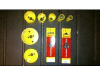 STARRETT CUTTER SET