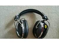 Ferrari Headphones.