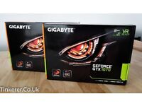 GIGABYTE GTX 1070 Windforce OC 8G REV. 2.0 - Graphics Card - GV-N1070WF2OC-8GD REV2.0