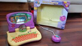 Vtech Dora laptop 3+