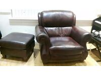 3 piece sofa amd foot stool