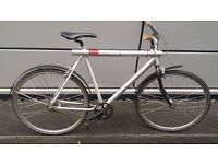 Very expensive Dutch brand bike, quick sale £195 the light is inside the frame