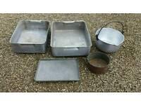 Aluminium pans