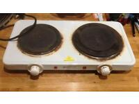 Electric cooker hob