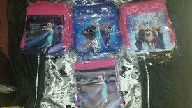 100 x Frozen Draw String Bags Ideal For Car Boot Trader Wholesale Market