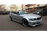 BMW E46 330CI CONVERTIBLE FACE LIFT GOOD CONDITION ONE YEAR MOT